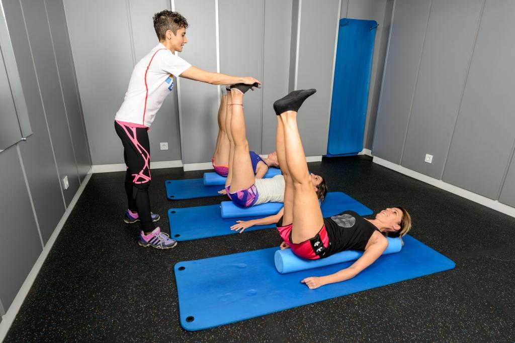 Pilates suelo en Fisioactiva